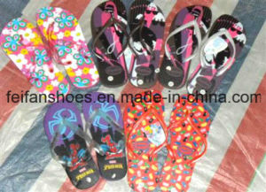 Mixed Designs Women&Men Slippers Stocks Sandals Stocks (FFST111801) pictures & photos