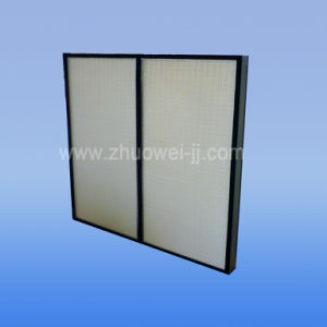 H14 99.99% HEPA Air Filters and Cleanroom HEPA Air Filter pictures & photos