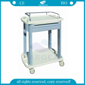 AG-Lpt006A Ce & ISO Approved ABS Medical Trolley with Onre Drawer pictures & photos