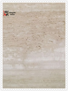 Natural Roma Travertine for High End Hotel Wall Tile / Floor Tile with Italy Origin