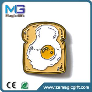 2D Color Filling UFO Metal Pin Badge pictures & photos