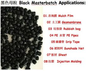 Blow Film Grade Black Masterbatch pictures & photos