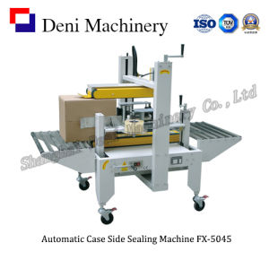 Semi-Automatic Box Side Folding and Sealing Machine FX-5045