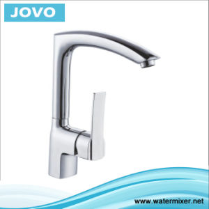 New Design Single Handle Kitchen Mixere&Faucet Jv73805 pictures & photos