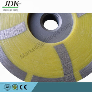 "4"" Resin-Filled Diamond Cup Grinding Wheel - Medium pictures & photos"