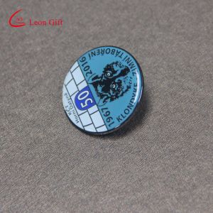 Custom Rond Shaped Enamel Animal Lapel Pins for Promotion Gift pictures & photos