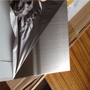 201 Cold Rolled No. 4/Hairline Finish Stainless Steel Plate pictures & photos