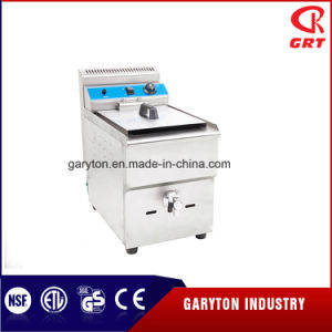 Commercial Chicken Wring Gas Chip Fryer (GRT-G17) pictures & photos