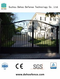 Customized Decorative High Quality Ornamental Residential Gate Fence pictures & photos