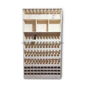 Modern Rack Wooden Display Storage Bottle Wine Cabinet pictures & photos