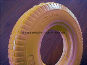 PU Foam Solid Wheel, Flat Free Wheel 4.00-8