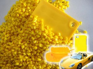 Plastic Pearlescent Yellow Color Masterbatch pictures & photos
