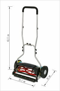 18′′ Professional Environmental Hand-Push Reel Lawn Mover pictures & photos