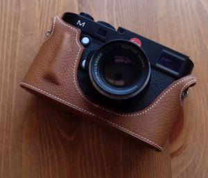 Handmade Ck37 Togo Clemence Genuine Leather Camera Bag Camera Cases