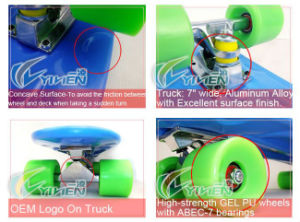 Manufacturer En71 / En13613 / Ce Approved Penny Board 22inch Plastic Skateboard pictures & photos