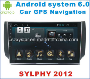 Android 6.0 Car DVD for Nissan Sylphy 2012-2016 with Car Navigation