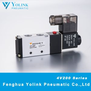 4V210 Series Pilot Operated Solenoid Valve pictures & photos