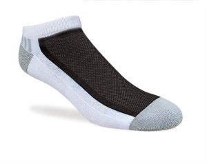 Men Cotton Sports Socks Lowcut Style with Half Cushion (MFC-042) pictures & photos