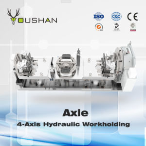 Machine Tool Fixture Manufacturing and Axle Four Axle Hydraulic Workholding pictures & photos