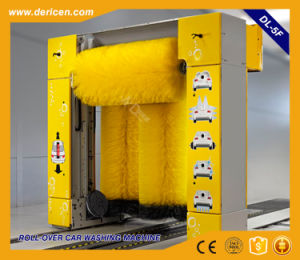 Dericen Dl5 Rollover Automatic Car Wash Machine Price with 5 Brushes Type pictures & photos