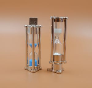 Time The Hourglass USB Flash Drive Metal U Disk pictures & photos