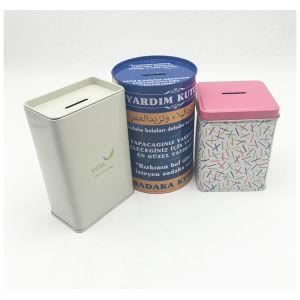 Custom Tin Coin Money Box Piggy Bank Wholesale pictures & photos