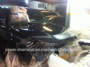 Black Color Car Body Coating for Car Refinish pictures & photos