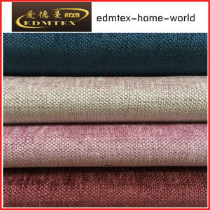 Plain Chenille Fabric for Sofa Packing in Rolls (EDM500)
