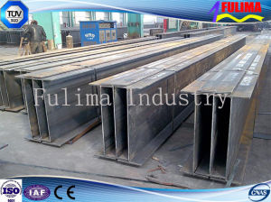 Building Structure Material Coated H Shape Steel Beam/Column pictures & photos