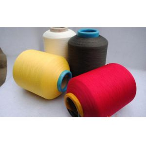 Spandex Covered Polyester Yarn 2075 3075 4075 for Socks pictures & photos