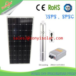 80m-100m Head Solar DC Submersible Pump with High Quality pictures & photos