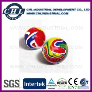 Logo Printed Rubber Bouncing Ball with Paper Card Inside pictures & photos