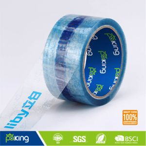 Transparent Blackground BOPP Printed Packing Tape for Carton Sealing pictures & photos