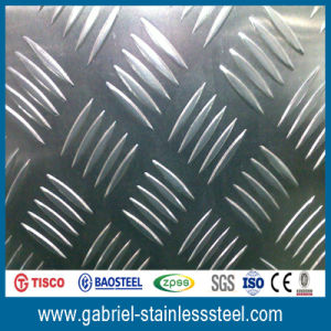 Cold Rolled Checkered 201 Stainless Steel Plate pictures & photos