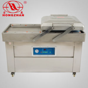 Double Chambers Chicken Vacuum Machinery Vacuum Sealer pictures & photos