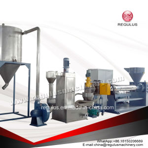 Waste Plastic PE/PP Single Screw Recycling and Pelletizing Line pictures & photos