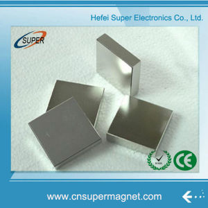 N42 N35 N52 Sintered Nickel Coating Strong Neodymium Block Magnets pictures & photos