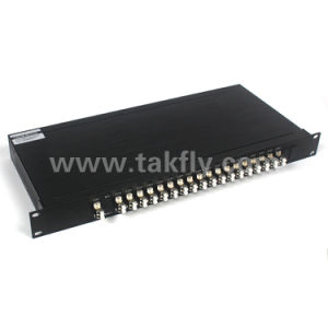 1u 19′′ Rack CWDM 18CH Module 1270-1610nm Mux/Demux pictures & photos