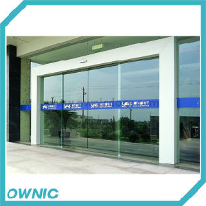 Automatic Frameless Sliding Glass Door for Building Entrance pictures & photos