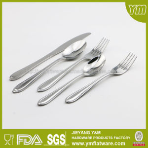 2016 Lowest Factory Wholesale Price Stainless Steel Flatware Set for Promotion