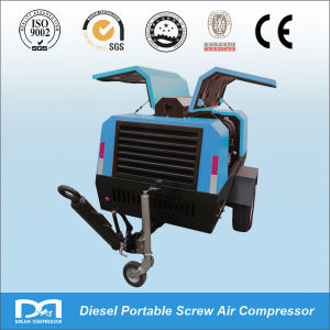 110 Kw 390 Cfm Diesel Air Compressor for Digging pictures & photos