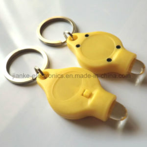 Hot Sell Promotion Gift Flashing LED Keychain (4070) pictures & photos