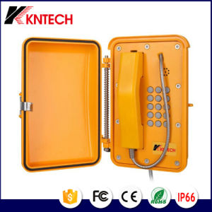 SIP Phone Self Checking Industrial Weatherproof Telephone System Kntech Knsp-19 pictures & photos