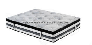 Super Pedic Queen Gel Memory Foam Mattress with Bed Base 28cm Depth