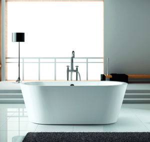 Freestanding Acrylic Bathtub Certified by Cupc, Ce, Acs, TUV, Saso pictures & photos