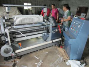Surface Type Back to Back Slitter Rewinder for PE Film Paper Roll (BM-700) pictures & photos