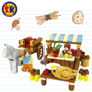 Kids Farm Market Blocks Toy for Play Game pictures & photos