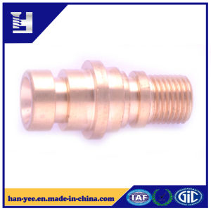 Brass Solid Step Rivet Connector with Milling Step pictures & photos