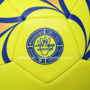 Machine-Sewing Soft PVC Soccer Ball Manufacturers pictures & photos
