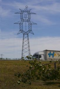 Practical Angle Steel Transmission Line Tower pictures & photos